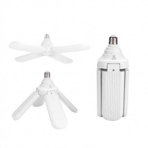 Lampa LED cu 4 brate mobile ajustabile tip ventilator 60w 6000k [1]
