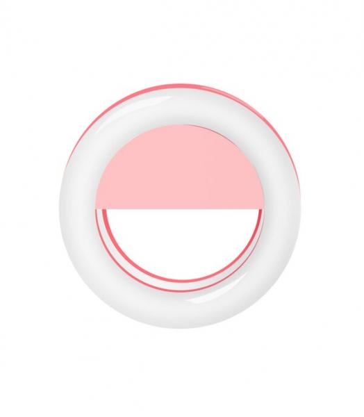 Inel luminos pentru selfie Accesoriu LED tip clips pentru telefon [1]