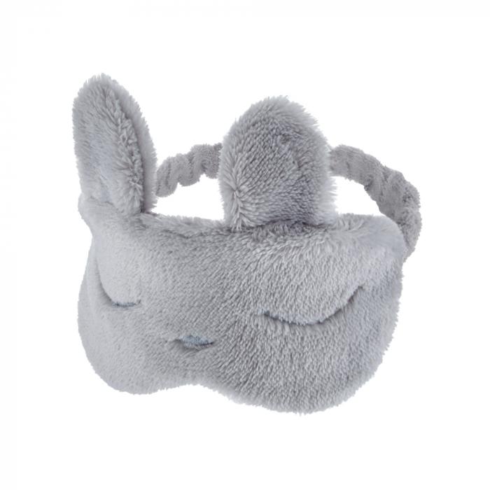 Masca bebelusi pentru somn BabyJem Sleeping Bunny Grey [0]