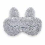Masca bebelusi pentru somn BabyJem Sleeping Bunny Grey [2]