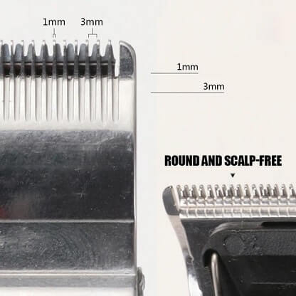 Masina de tuns profesionala electric cu lama contur Negru [5]
