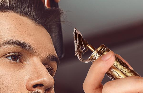 Aparat de tuns profesionist, pentru păr și barbă Hair Trimmer cu model [1]