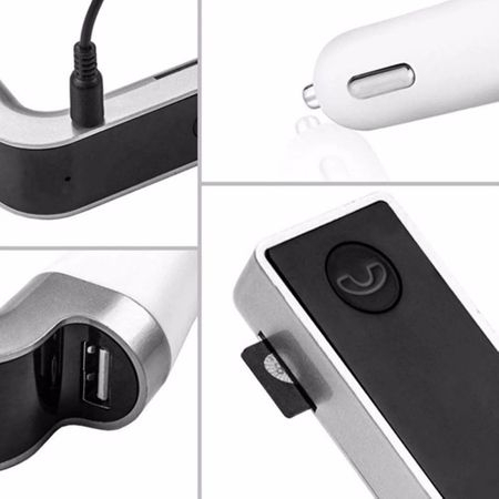 Modulator FM Bluetooth , USB , Card MicroSD , Ecran LCD [1]