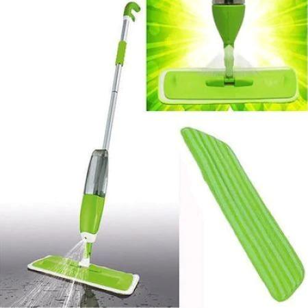 Mop cu pulverizator multifunctional, microfibra spray cu rezervor 650ml [3]