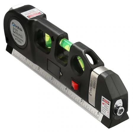 Nivela multifunctionala cu laser, boloboc si ruleta, Level PR03 [0]