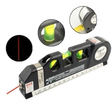 Nivela multifunctionala cu laser, boloboc si ruleta, Level PR03 [2]
