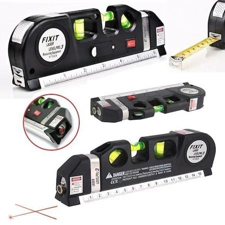 Nivela multifunctionala cu laser, boloboc si ruleta, Level PR03 [1]