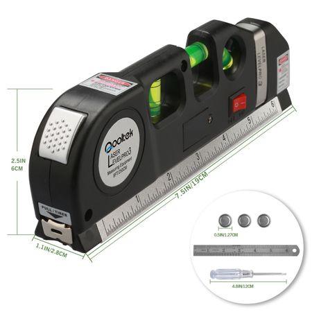 Nivela multifunctionala cu laser, boloboc si ruleta, Level PR03 [4]