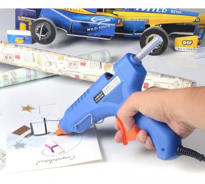 Pistol de lipit cu silicon la cald 20W 110V-220V 7mm [0]
