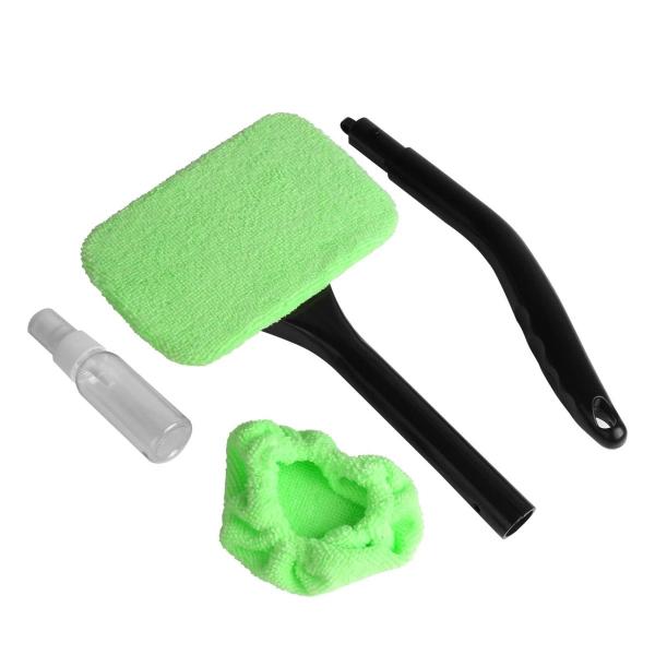 Racleta auto Windshield Wonder, material plastic, negru/verde [2]