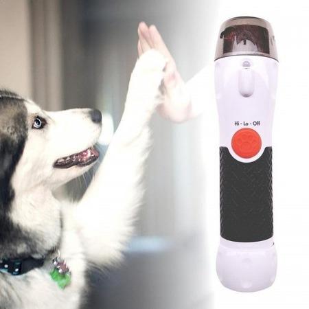 Pila electrica pentru caini si pisici cu 2 viteze si lumina LED, Paw Perfect [2]