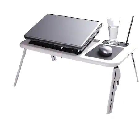 Masuta de laptop multifunctionala e-table , suport usb [2]
