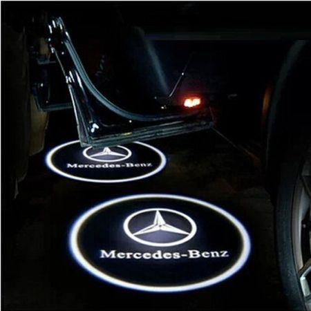 Proiectoare Portiere cu Logo Mercedes-Benz [0]