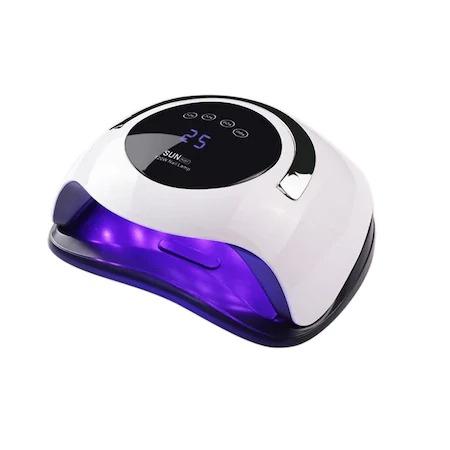 Lampa unghii DUBLA UV LED 120w SUN BQ-5T display, senzor, timer [0]