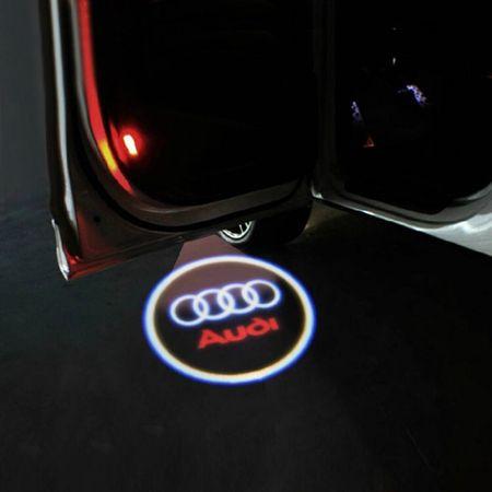 Proiectoare Portiere cu Logo Audi [0]