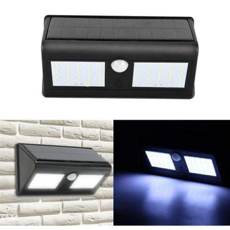 Lampa Cu LED Dubla Solara Si Senzor De Miscare 40 x LED [0]