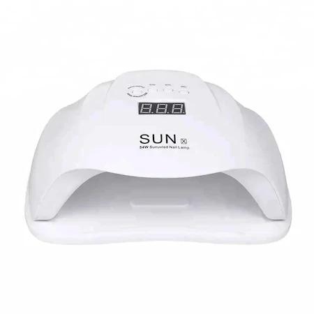 Lampa UV/LED pentru manichiura, SUN X, 54 W, Alb [2]