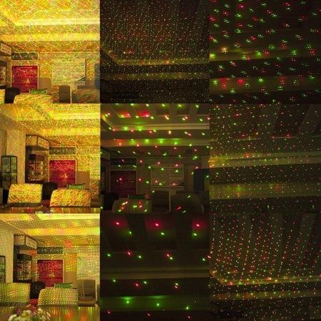 Mini Proiector Laser, jocuri de lumini, senzor de sunet [2]