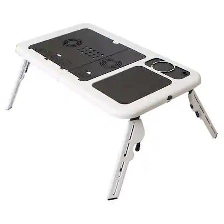 Masuta de laptop multifunctionala e-table , suport usb [0]