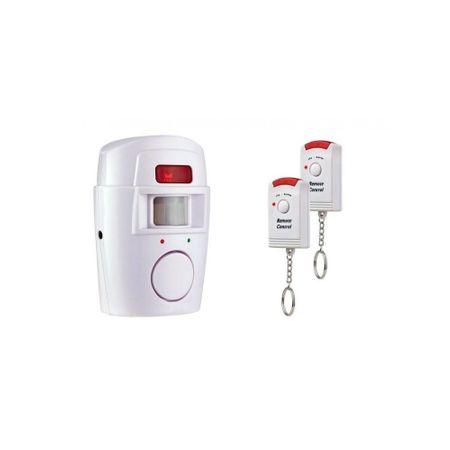 Alarma wireless cu 2 telecomenzi, senzor de miscare, [2]