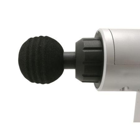 Aparat de masaj Profesional Fascial Gun cu Vibromasaj, portabil cu acumulator 8,4V inclus, 4 capete, 6 trepte de viteza Putere 24W [3]