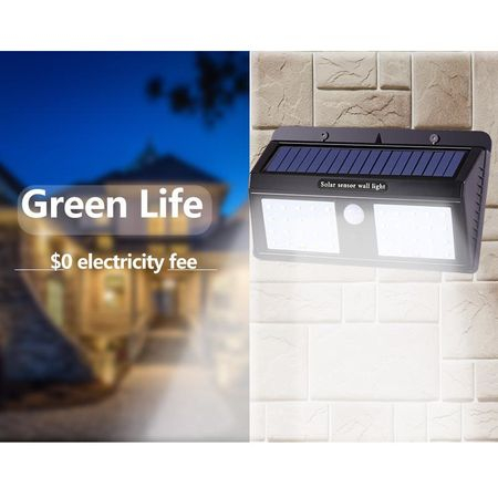 Lampa Cu LED Dubla Solara Si Senzor De Miscare 40 x LED [1]