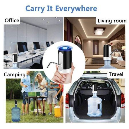 Pompa pentru bidon electrica, dozator, dispenser apa de baut, uz casnic [4]