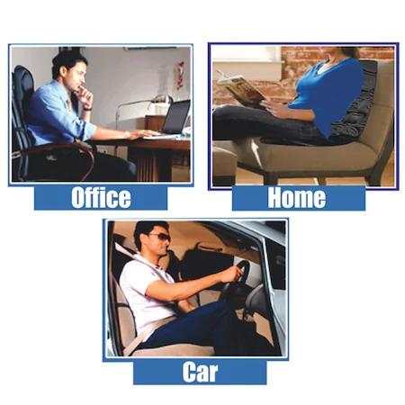 Husa scaun cu masaj si incalzire Cushion Pro, 5 zone masare, 5 W, telecomanda [1]