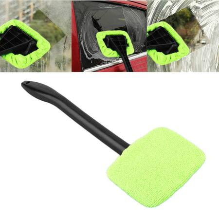 Racleta auto Windshield Wonder, material plastic, negru/verde [3]