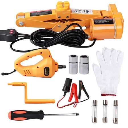 Cric Electric 3T cu Cheie Jante cu Impact, Kit JTY Tools [7]