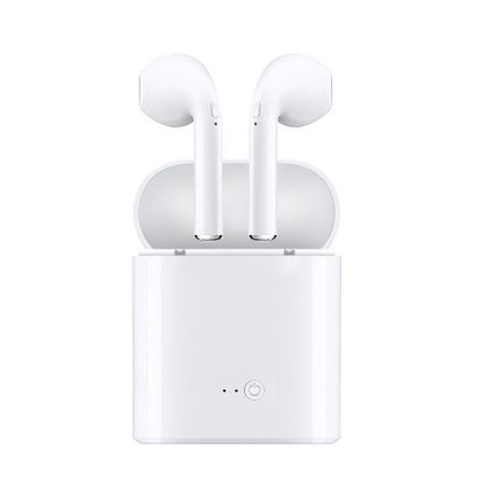 Casti i7 MINI Calitate Premium, Wireless Bluetooth 4.2 High Definition Music, Microfon Telefon [2]