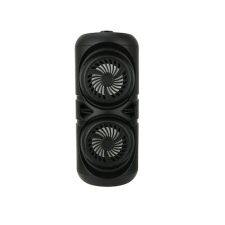 Boxa Activa Portabila Bluetooth, ZQS-4221, 12 W, USB, TF/SD Card, Aux, Radio FM, Telecomanda si Lumini, Negru [0]