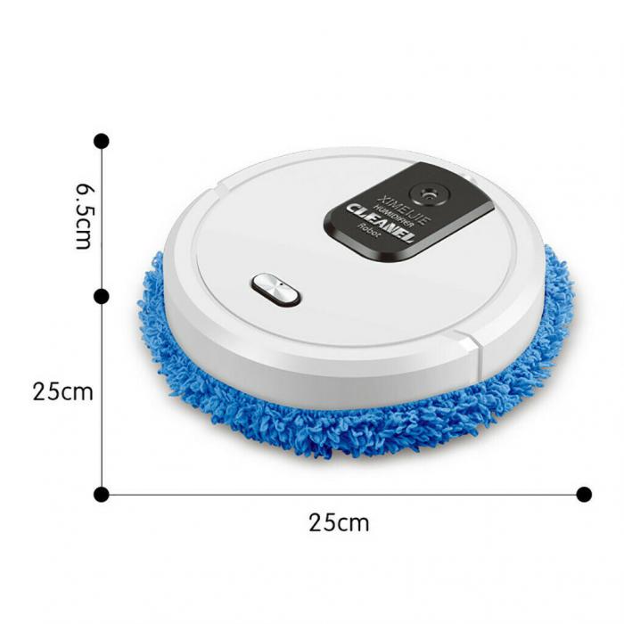 Robot inteligent Mop Cleaner 3 in 1, Rosu [3]