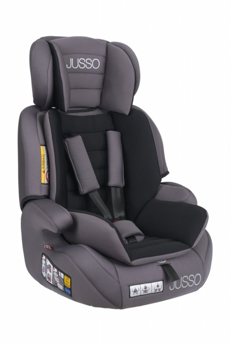 Scaun auto Jusso Grey 9-36Kg [1]
