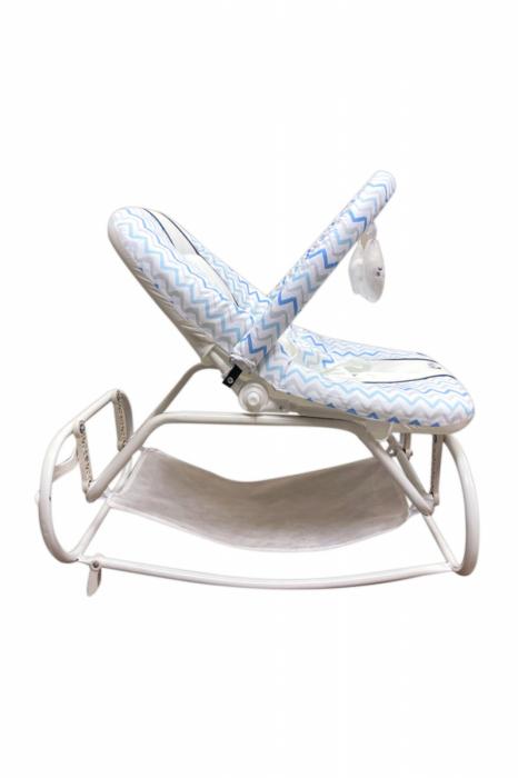Scaun Balansoar bebeusi Ay Baby Albastru [1]