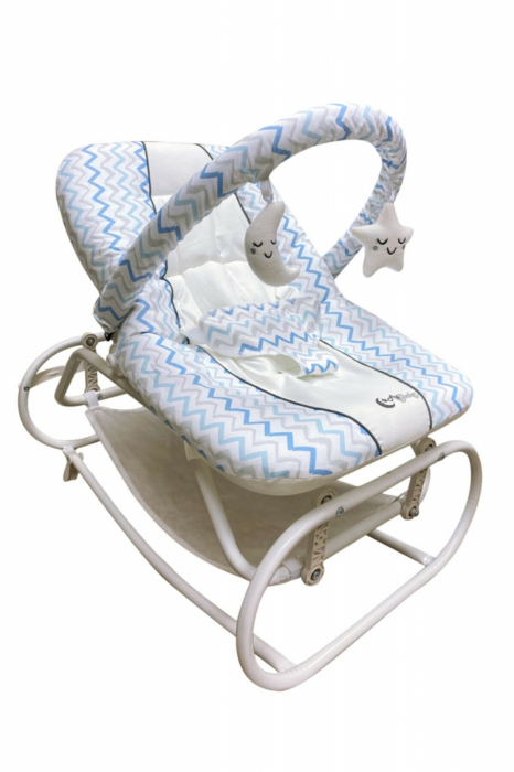 Scaun Balansoar bebeusi Ay Baby Albastru [0]