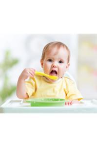 Set 2 lingurite pentru copii BabyJem Blue/Yellow [2]
