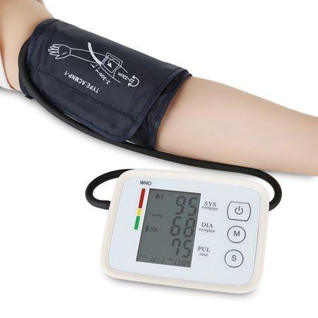Tensiometru medical CK-A155 cu afisat LCD scanare puls compresie automata [0]