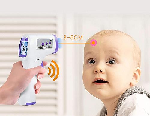 Termometru digital non contact cu infrarosu, afisaj LCD [7]