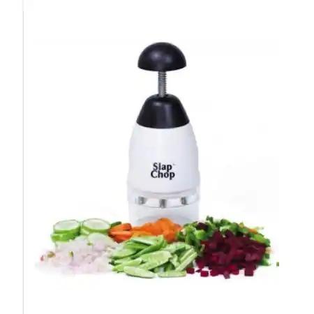 Tocator fructe/legume Slap Chop, alb/Negru [1]