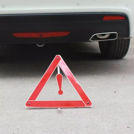 Triunghi reflectorizant pliabil auto [2]
