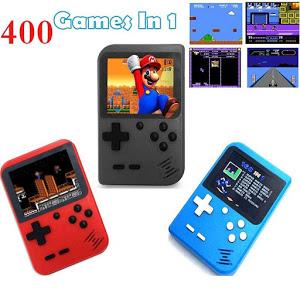 Consola de jocuri video, portabila, Retro Mini Gameboy 400 in 1 [4]