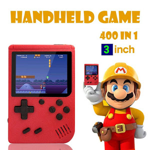 Consola de jocuri video, portabila, Retro Mini Gameboy 400 in 1 [2]