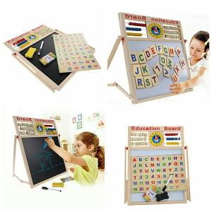 Tabla educativa multifunctionala pentru copii 40 x 40 cm [2]