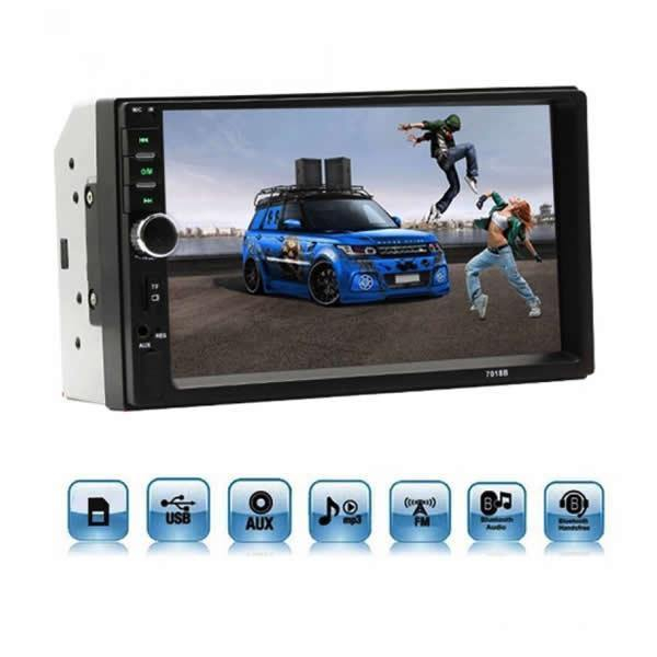 Mp5 player auto 7018b, 2 DIN Touch screen 7, Bluetooth USB [0]