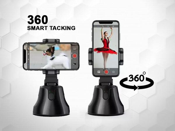 Suport selfie pentru telefon, urmarire automata inteligenta si rotire la 360 [1]