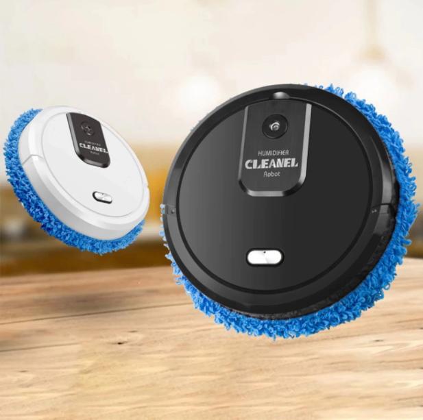 Robot inteligent Mop Cleaner 3 in 1, Rosu [2]