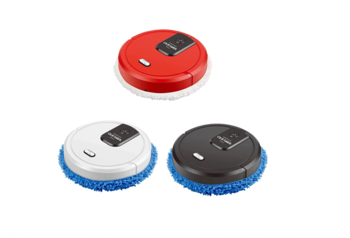 Robot inteligent Mop Cleaner 3 in 1, Negru [2]