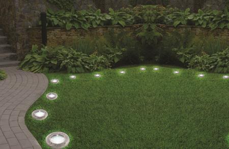 Set de 4 lămpi solare 4LED Disk Lights [1]