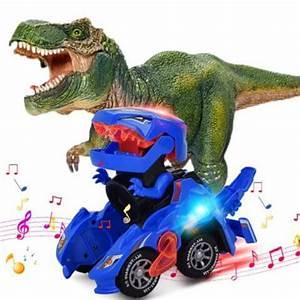 Mașină dinozaur în transformare [2]